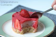 Interprétations Culinaires | Le petit fraisier vegan