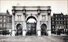 London - Marble Arch Prior to 1906 Bethnal Green, Piccadilly Circus, Trafalgar Square, Green Park, London Bridge, Covent Garden, London Photos, Buckingham Palace, Westminster