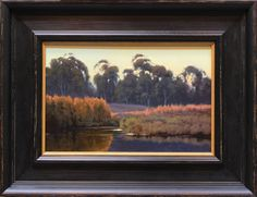 Kevin Courter painting, A Quiet Light, 8x12, oil on linen