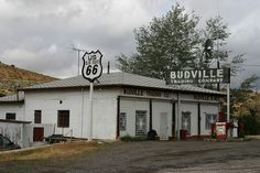 route 66 gas stations | Old Route 66 Gas Station, Budville, New Mexico | Flickr - Photo ...