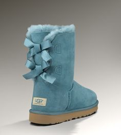 ugg bailey bow teal - Google Search