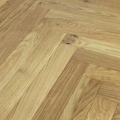 Loire Parquet Herringbone Oak Brushed Oiled Engineered Flooring