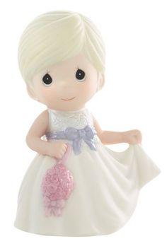 "Precious Moments ""Flower Girl"" Figurine - http://www.preciousmomentsfigurines.org/anniversary/precious-moments-flower-girl-figurine-2/"
