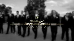 Gold Wedding Title 애프터 이펙트 프로젝트