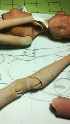Legs joints