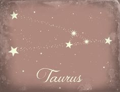 Taurus constellation, i kinda want this tattooed on me.