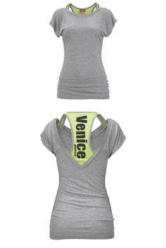 649f951855f438 Venice Beach T-Shirt | Fitness-Outfit für Frauen - für Ihr Workout und