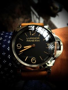 - Men's Watches from Top Brands Amazing Watches, Beautiful Watches, Cool Watches, Man Watches, Panerai Watches, Panerai Luminor, Der Gentleman, Watches Photography, Luxury Watches For Men