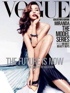 Miranda Kerr – Vogue Australia April 2013 [IPAD Edition Remastered] | Fashion Scans Remastered!