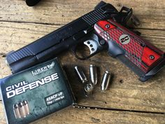 Ammo Test: Liberty Ammunition Civil Defense 9mm and 45 ACP, I used a Springfield Armory 1911 TRP to try out the 45 ACP load.