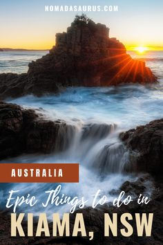 Here's our ultimate guide to the best things to do in Kiama, one of the most beautiful coastal towns in New South Wales.  Things to do in Kiama, Attractions in Kiama, Kiama attractions, where to go in kiama, what to do in kiama, where to go in new south wales, What to see in new south wales, where to travel in new south wales, what to see in south coast australia, South Coast Australia, where to go in South Coast Australia. #NewSouthWales #Kiama #SouthCoast Travel Advice, Travel Guides, Travel Tips, Coast Australia, Australia Travel, Stuff To Do, Things To Do, Yahoo Travel, Backpacking Tips