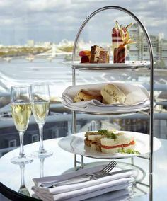 Afternoon Tea at Wyndham Grand Chelsea Harbour London £20 - AfternoonTea.co.uk