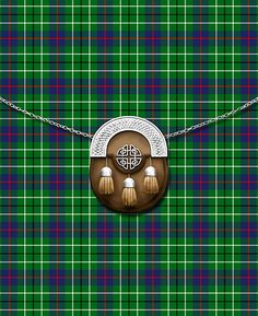 Clan Duncan Tartan And Sporran by thecelticflame