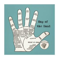 Palm reader map of the hand poster Spiritual Prayers, Spiritual Guidance, Spiritual Awakening, Talk To The Hand, Palm Of Your Hand, Hand Lines Meaning, Palm Reading Charts, Introvert Problems, Tarot Learning