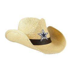 NFL Dallas Cowboys Cowboy Hat - Natural at shop.dallascowboys.com.
