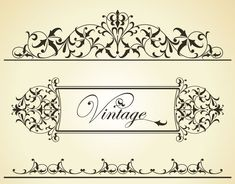 GRAPHIC DECORATIVE FRAMES FOR BORDERS - Google Search