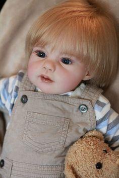 Reborn Toddler Boy Luke By Puddin'cake Babies