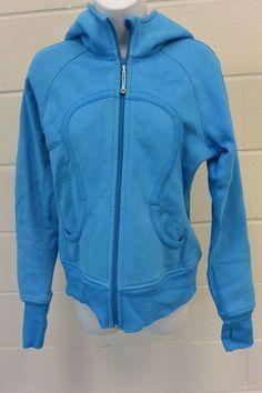 Lululemon Scuba Hoodie Beaming Blue Size 8 Must Have! Love this COLOR!  #LULULEMON #Hoodie