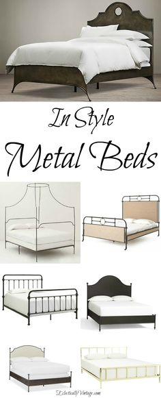 Stylish Metal Beds -