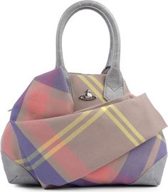 Vivienne Westwood Tartan Canvas Bag