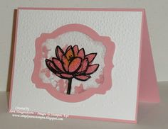 Shake It Up! ~ A fun shaker card using the set Remarkable You from Stampin' Up!