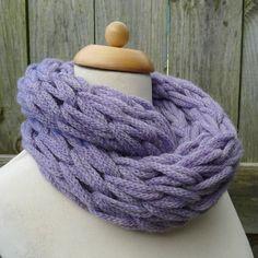 Merino Snood: lilac. https://www.etsy.com/uk/shop/WildbrookWoollies