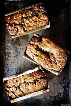 Banana Bread with Nutella Swirls / Pass the Sushi
