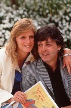 Linda Eastman-McCartney and Paul McCartney