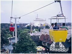 Walt Disney World - the way it was. The Sky Ride, so wish they had not done away with it.
