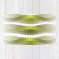 Greeny Rug by weivy Bedroom Mats, Face Towel, Presents For Friends, Wooden Shelves, Optical Illusions, Floor Mats, Hand Towels, Ivy, Tapestry