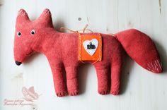 мое рукоделие:): Интересный заказ:) Мягкая игрушка лиса