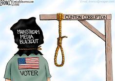 Media See no evil political cartoon