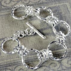 HandPicked: Circle and Double Bar Bracelet