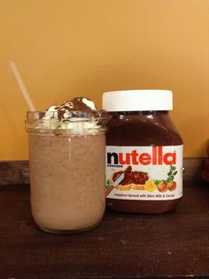 ... Nutella milkshake on Pinterest | Nutella milkshake, Strawberries and