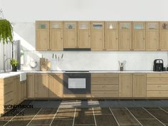 Xenon kitchen by wondymoon from tsr for the sims 4 The Sims 4 Pc, Sims Four, My Sims, Sims Cc, Sims 4 Cc Furniture Living Rooms, Kitchen Furniture, Die Sims 4 Packs, Sims 4 Kitchen, Kitchen Sets