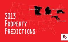 InvestorsBeat.com: 2013 Property Predictions for Maryland, Massachusetts, Michigan, and Minnesota