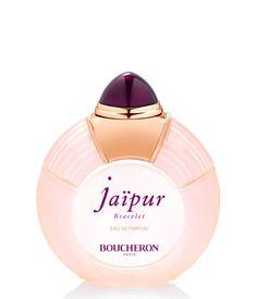 JAÏPUR BRACELET. Un auténtico frasco-joya, símbolo de sueño y evasión. Un tapón violeta oscuro, misterioso e institucional. Se lleva como una caricia en la muñeca. Con un nombre que inspira el sueño. Adornado en rosa como la ciudad de Jaïpur.