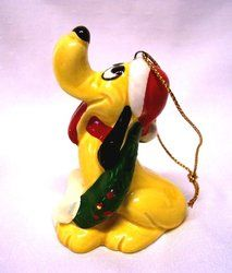Vintage Disney Pluto Christmas Ornament Disney Christmas Decorations, Christmas Images, Vintage Disney, Disney Characters, Fictional Characters, Google Search, Pictures, House, Art