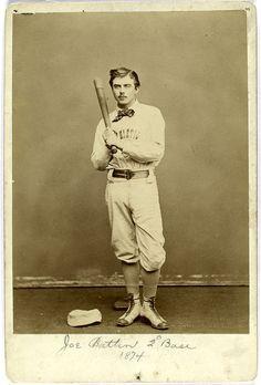 Joe Battin 2nd Base 1874