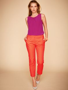 Pants with a nice pocket detail pattern is burdastyle