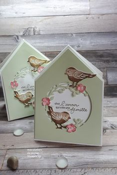Card Making Tips, Card Making Tutorials, Making Ideas, 3d Cards, Stampin Up Cards, Scrapbooking Action, Fancy Fold Cards, Butterfly Cards, Stamping Up
