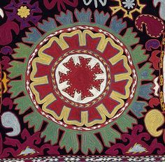 antique textile uzbek - Google Search