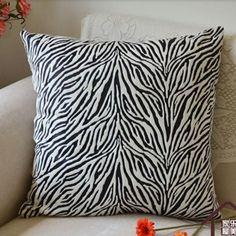 zebra throw pillows for couch contemporary decorative pillows