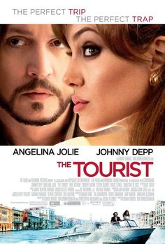 The Tourist. It's an awesome movie ! Full of action suspence and has a twist !! Love it !