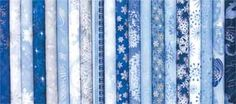 """2 1/2"""" STRIP WINTER SPARKLE FABRIC COLLECTION"""
