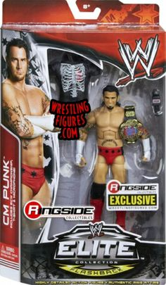 """""""ECW CM Punk"""" Ringside Collectibles Exclusive   Ringside Collectibles"""