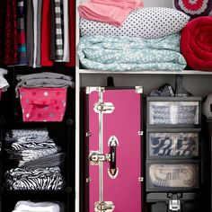 Maximize small spaces and dorm rooms with storage solutions
