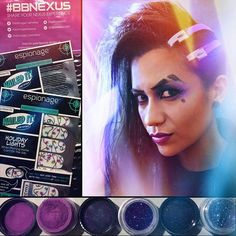 Nerd Makeup Ambassador, Cosplayer, and bonafide badass Sam Skyler rocking a Sombra makeup look using Espionage Cosmetics! She also got a shiny new Nexus package from us featuring two brand new nail wrap designs. Sign up at ecboombox.com. Check out her Instagram for more majesticness at samskylerart! #EspionageCosmetics #NerdMakeup #nma #mua #lotd #cosplay #Sombra #Overwatch