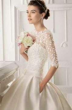 Winter Bridal Fashion with Aire Barcelona 2014