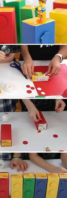 Lego Drinking Blockss | Birthday Party Ideas for Boys | DIY Lego Party Ideas for Boys